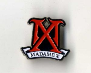 MADAME X - OFFICIAL ENAMEL LOGO PIN BADGE
